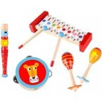Musikinstrument barn Tooky Toy