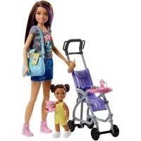 Barbie med tillbehör