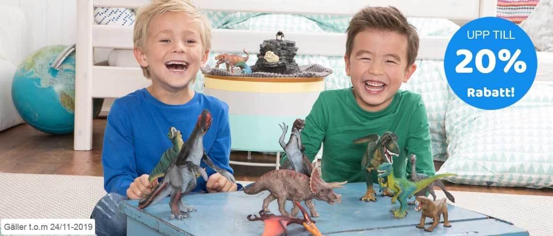 Kampanj på dinosaurier