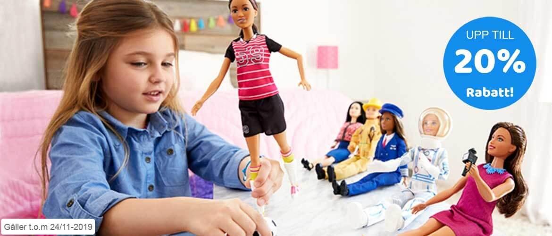 Kampanj på Barbie